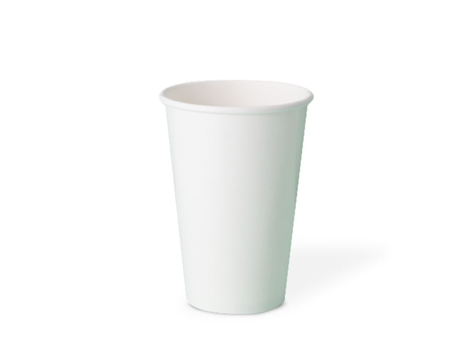 copo de papel descartável biodegradável 380 ml