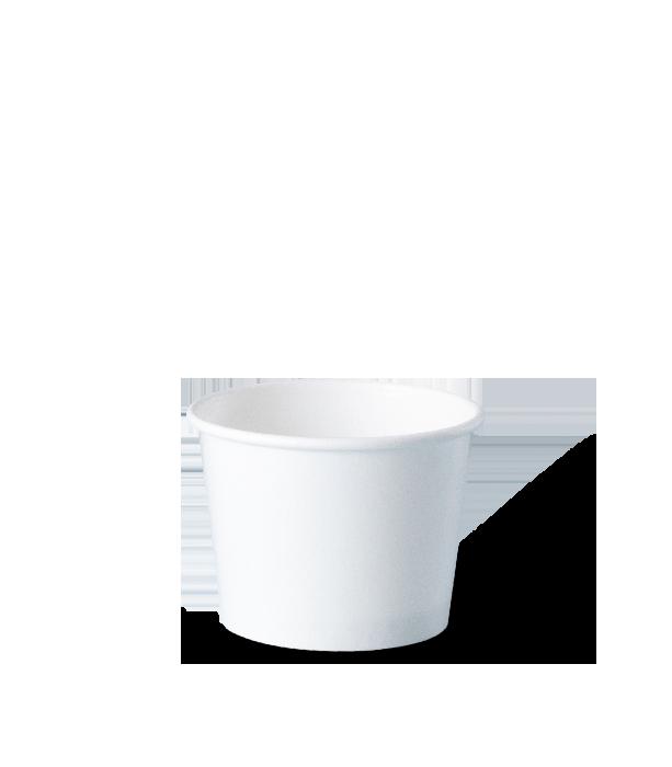 potes de papel descartáveis personalizados para sorvetes, fastfood, bolo, tamanho 120 ml