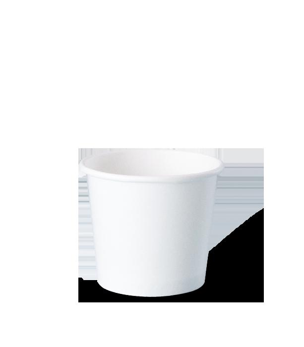 potes de papel descartáveis personalizados para sorvetes, fastfood, bolo, tamanho 160 ml