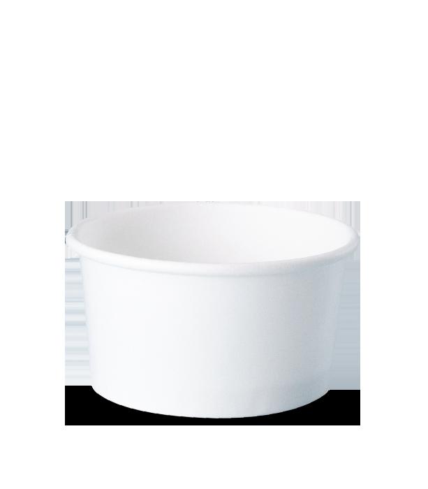 potes de papel descartáveis personalizados para sorvetes, fastfood, bolo, açaí, tamanho 220 ml