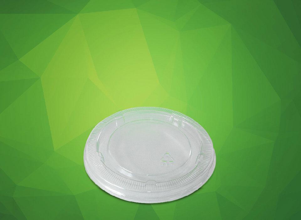 tampa para potes descartáveis de papel