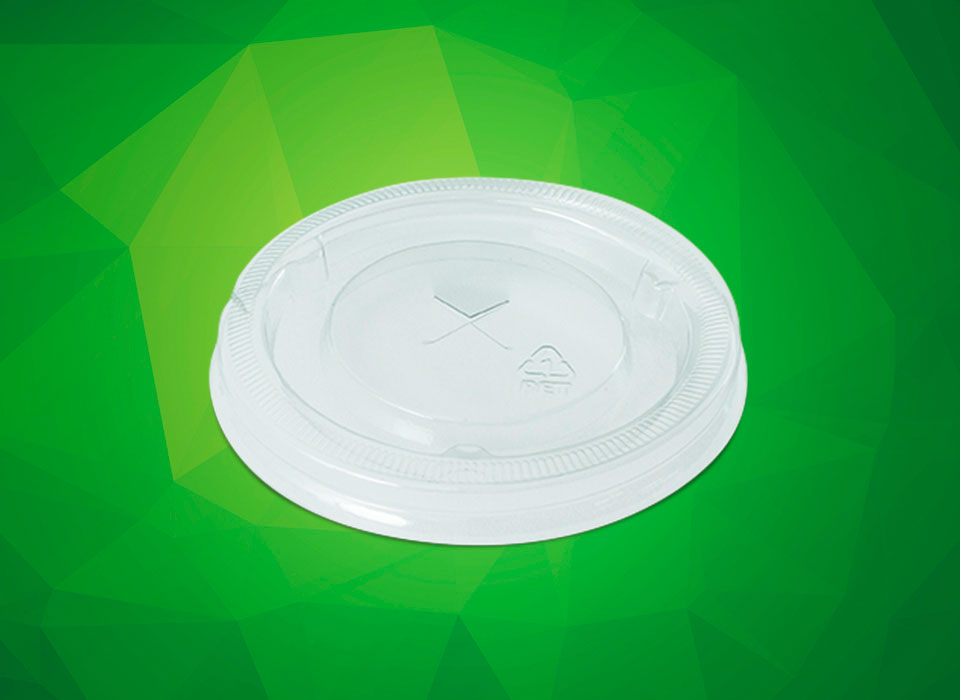 tampa para potes de papel descartáveis 240 e 300 ml