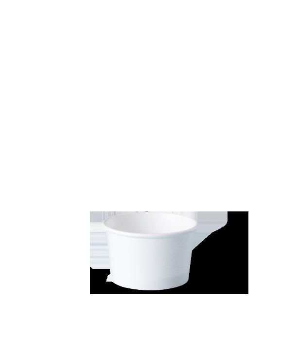 pote personalizado de papel para sorvete, fastfood, bolo, açaí, tamanho 50 ml
