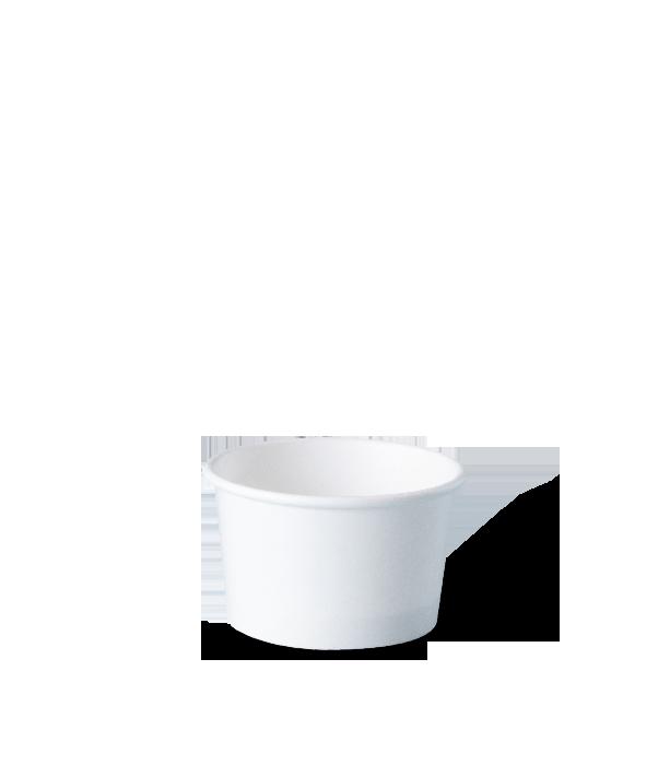 pote personalizado de papel para sorvete, fastfood, bolo, açaí, tamanho 80 ml