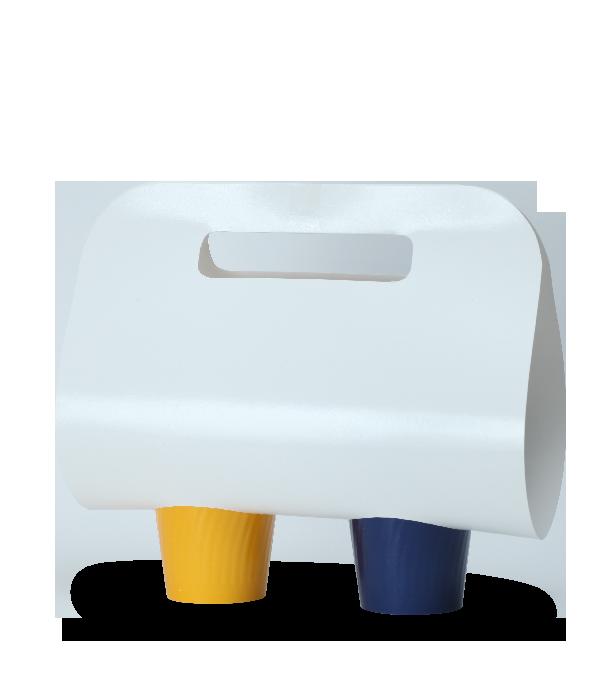 acessório porta copo de papel com alça para copos de papel personalizados