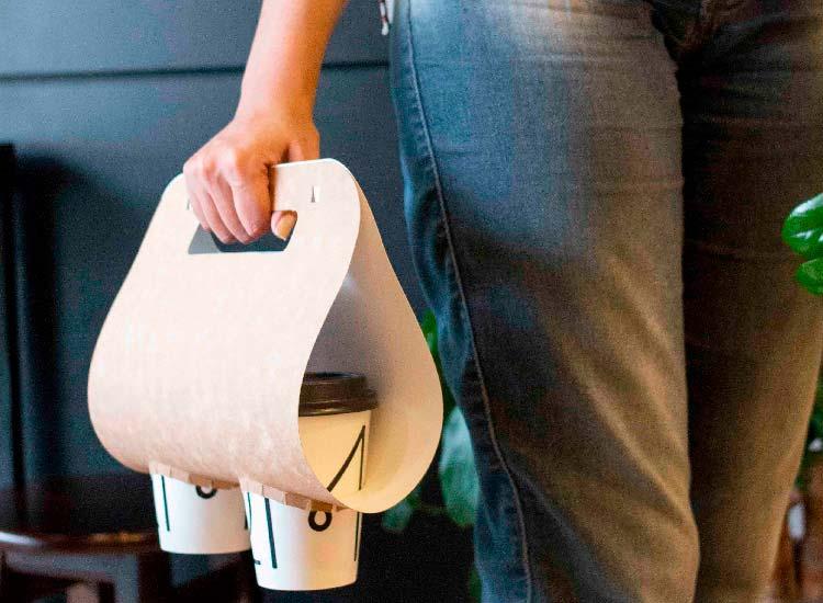 acessórios, porta copos de papel para copos personalizados