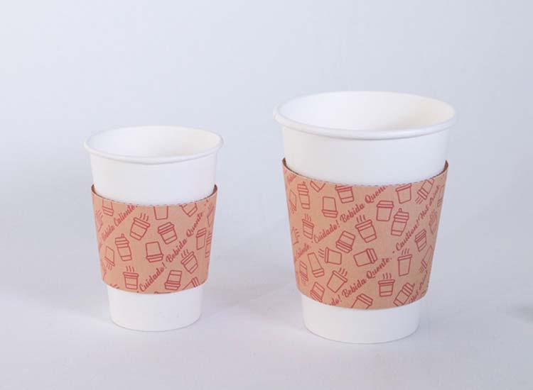 cinta para copos de papel descartáveis