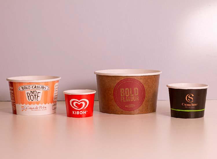 pote de papel para bolo, pote de sorvete, pote de papel para sorvete, sorvete, pote personalizado, pote descartável, pote descartavel com tampa, potes descartaveis, potes personalizados